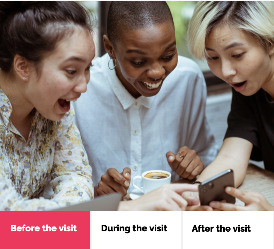 Enhance your visitor experience along the Customer Journey with advanced technologies - before the visit