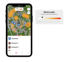 In-venue heat maps with Tap from Convious