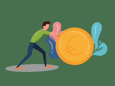 Encourage immediate cash flow to stay afloat