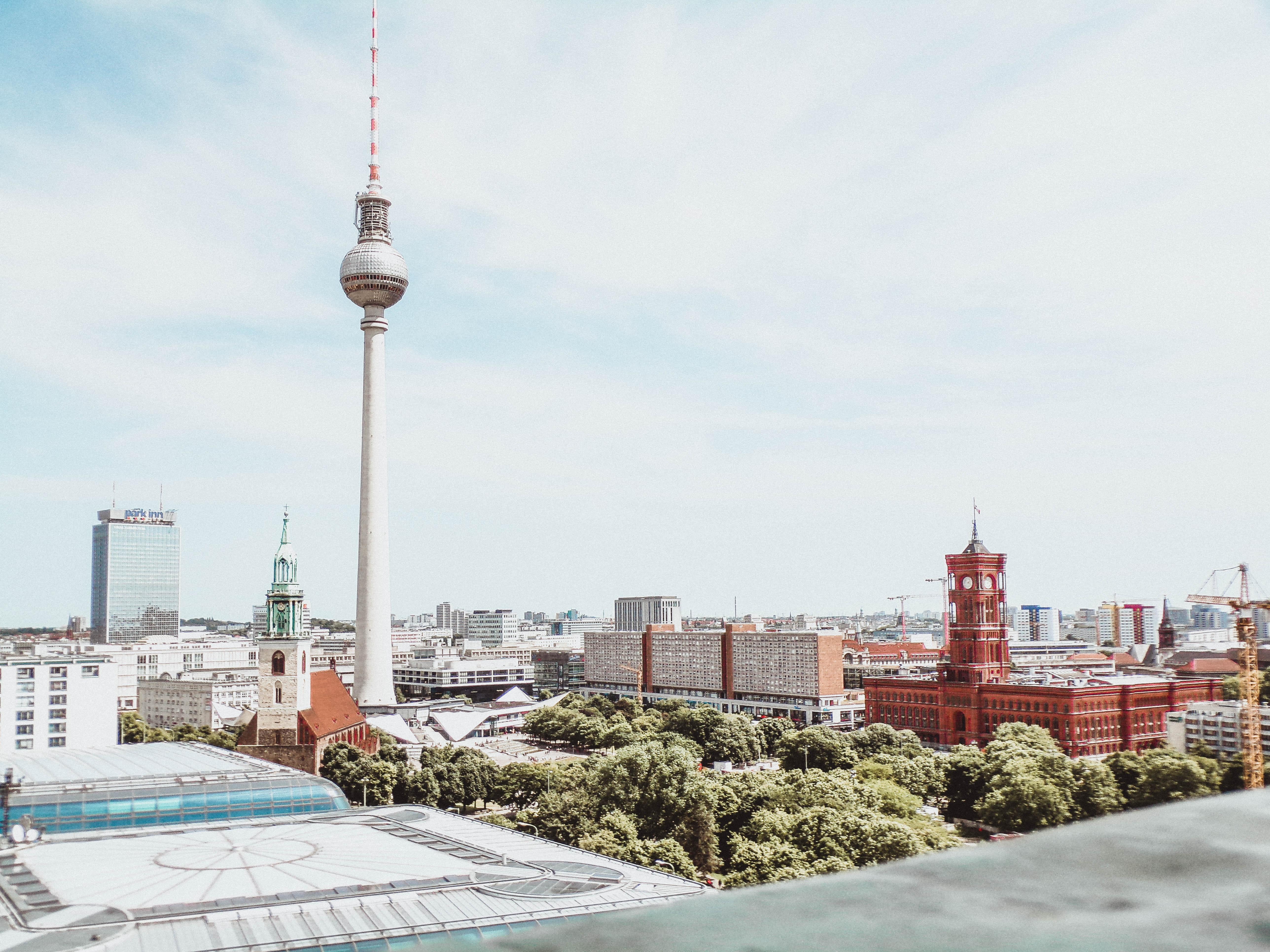 View on alexanderplatz architecture