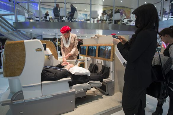 Emirates Airlines First Class Seats