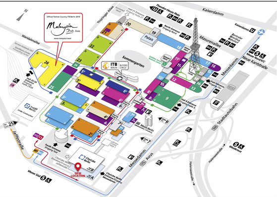 Exhibition Grounds Map