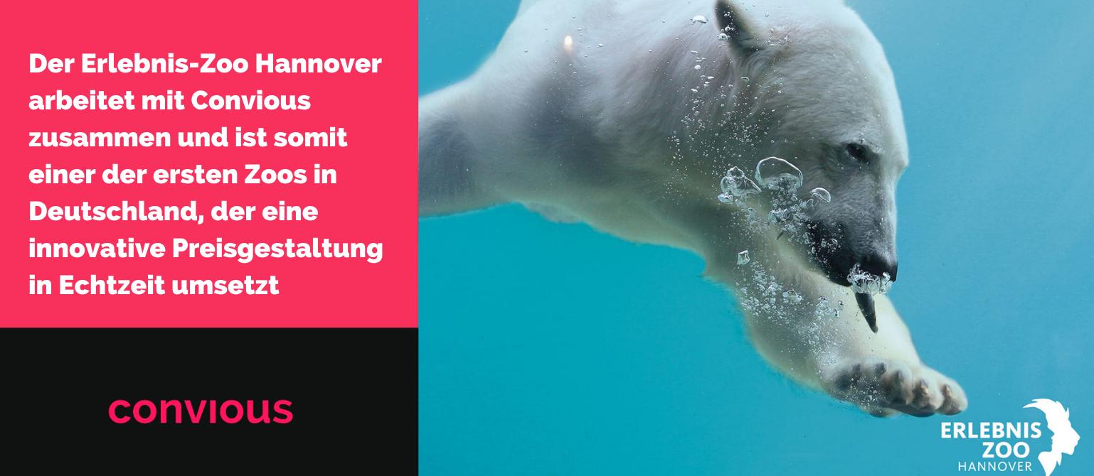Der Erlebnis-Zoo Hannover arbeitet mit Convious zusammen und ist somit einer der ersten Zoos in Deutschland, der eine innovative Preisgestaltung in Echtzeit umsetzt