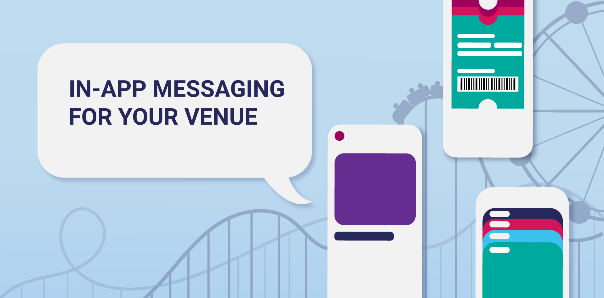 In-app messaging for your leisure venue's mobile app