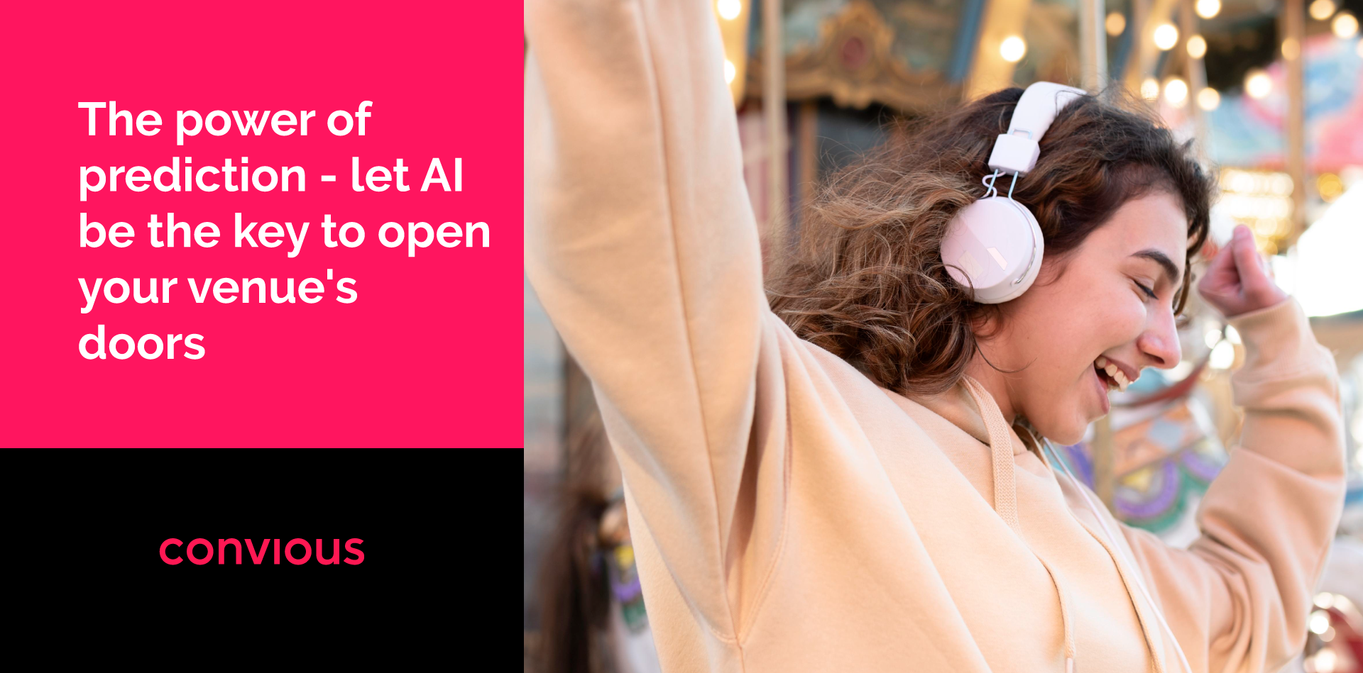 The power of prediction - let AI be the key to open your venue's doors